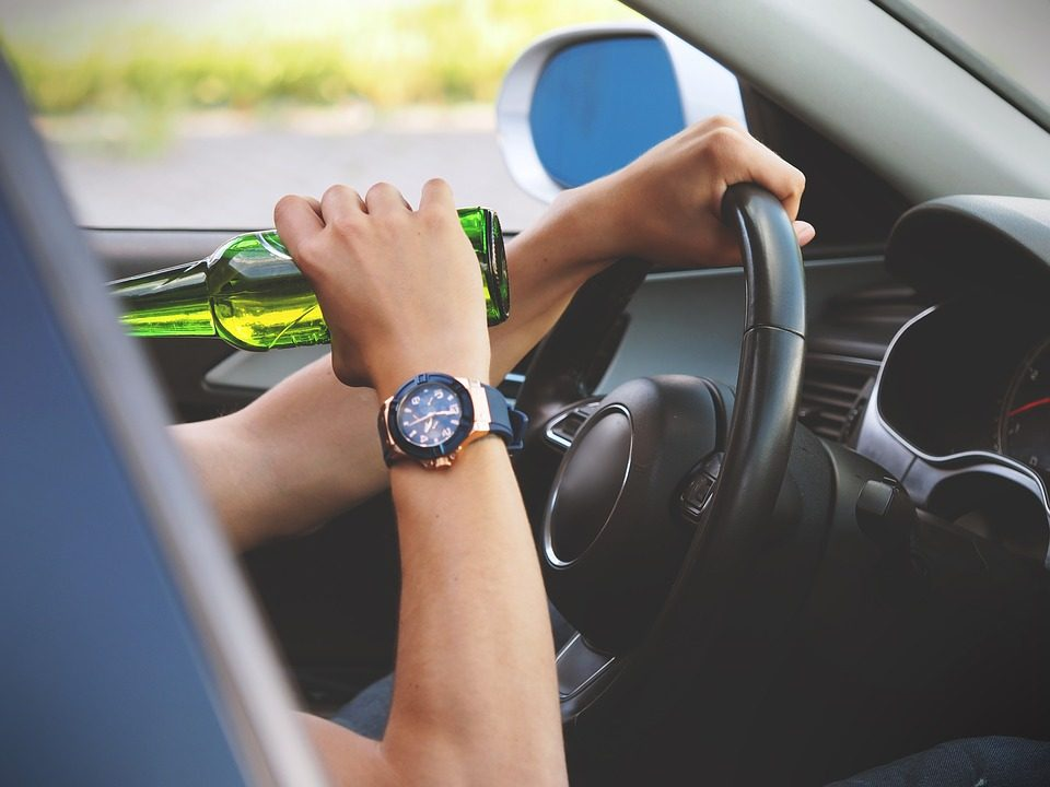 DUI drinking and driving accident