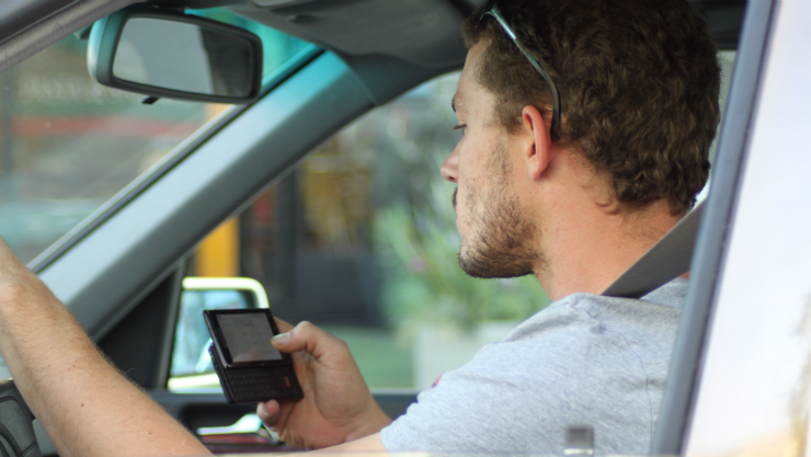 distracted driving, crash, accident, california