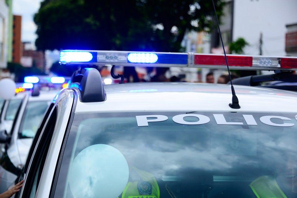 police, crash, accident