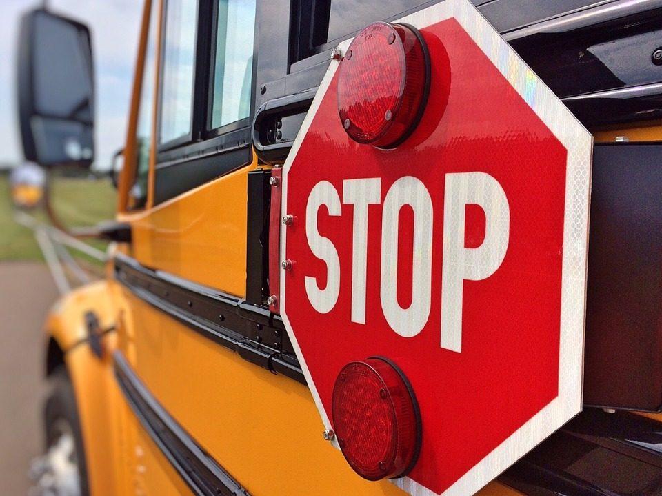 bus accident, crash, car, stockton